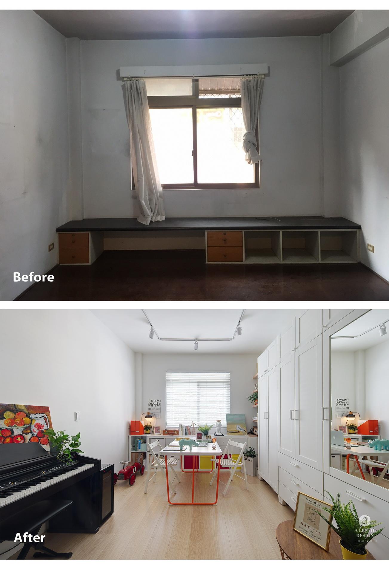 餐廳飯廳改造前後室內設計案例