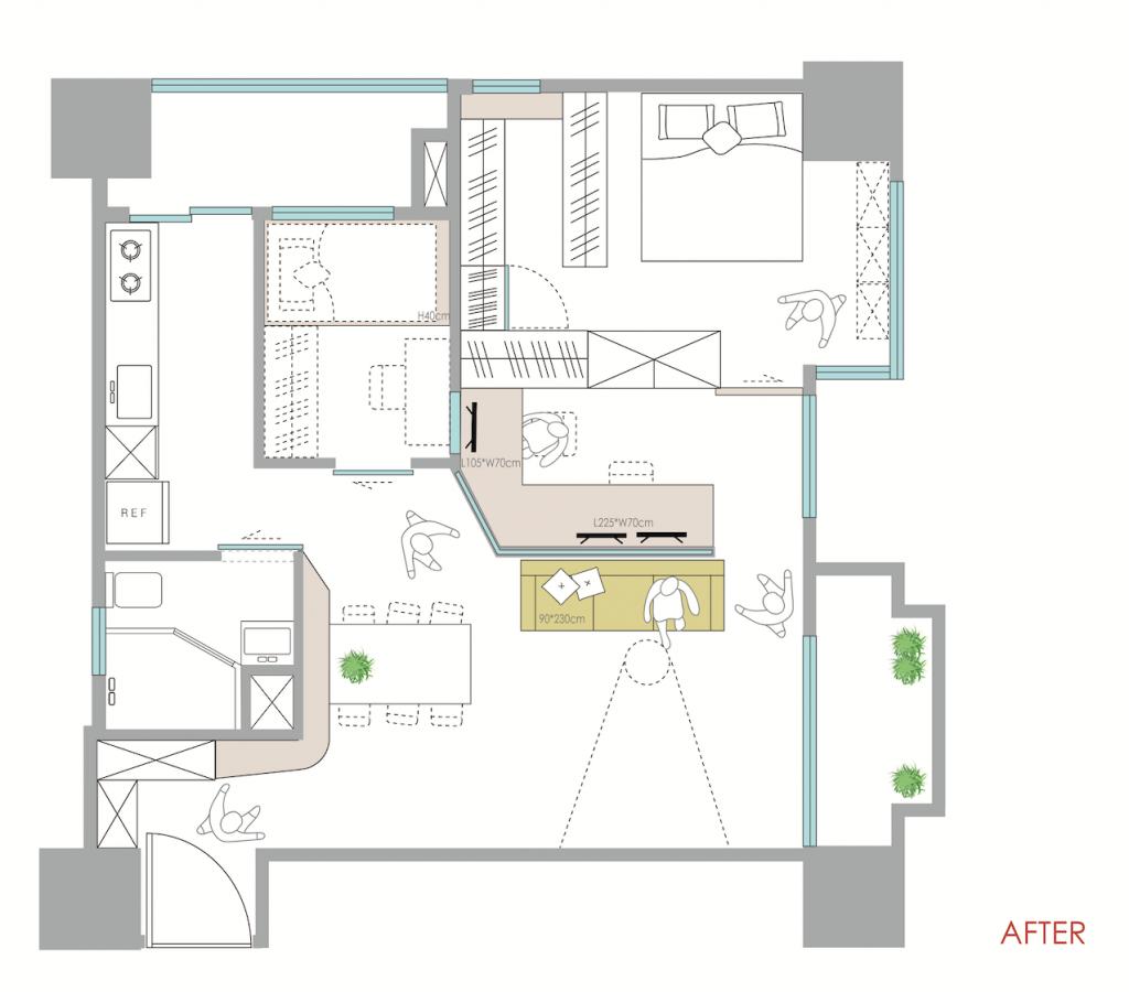 山中小豪宅新設計格局平面圖
