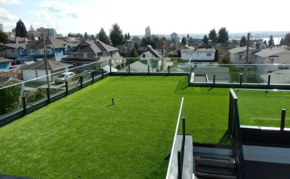 屋頂種植草皮