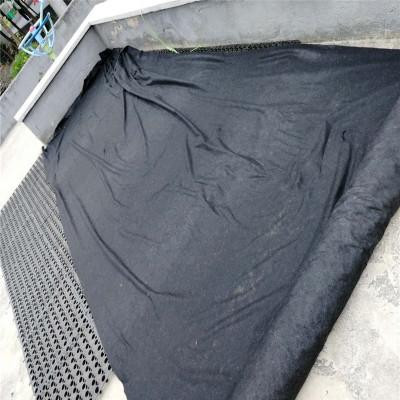 屋頂花園草皮濾水材不織布