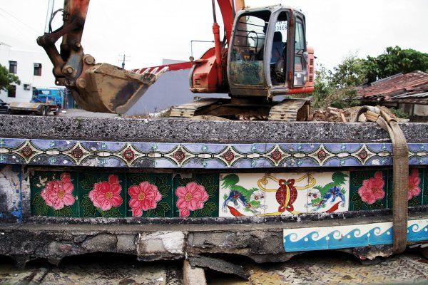 消失的台灣花磚